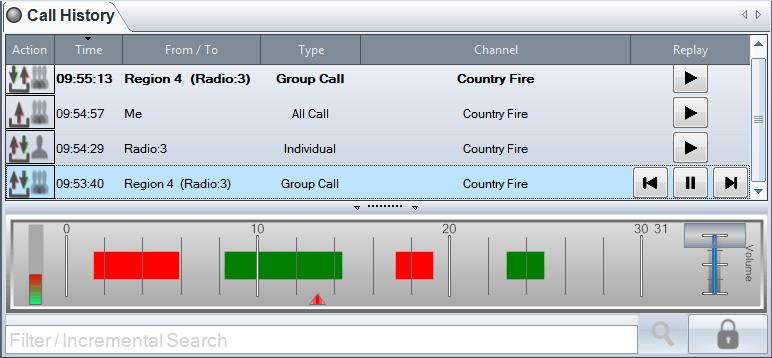RediTALK Call History