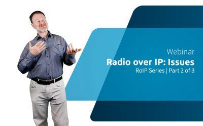 WEBINAR | RoIP Series 2/3: Rádio prático sobre IP / Edições