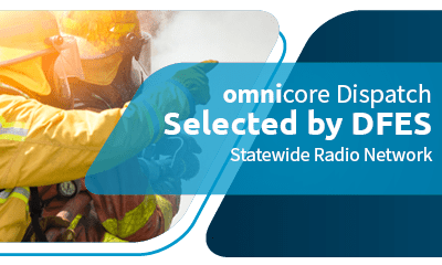 DFES Department of Fire & Emergency Services Selects omnicore