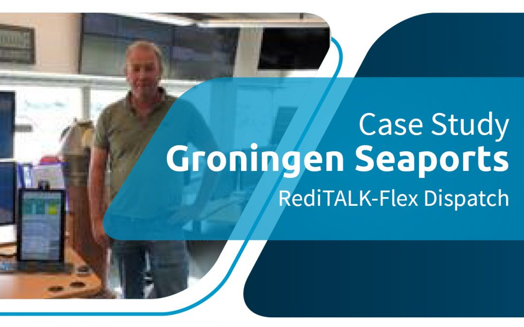 Groningen Seaports Upgrade Radio Dispatch to Omnitronics RediTALK-Flex