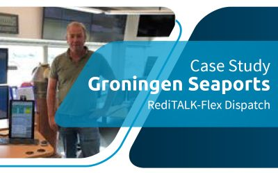 Maritime Dispatch – Groningen Seaports Upgrade Radio Dispatch to Omnitronics RediTALK-Flex