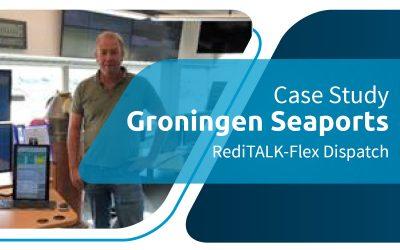 Maritime Dispatch - Upgrade der Seehäfen von Groningen auf RediTALK-Flex