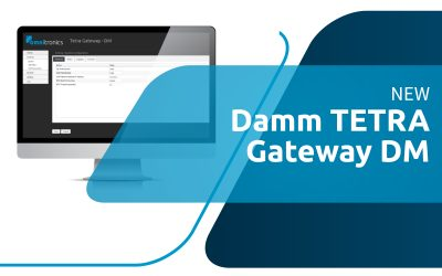 Omnitronics is pleased to announce the release of their NEW Damm TETRA gateway!