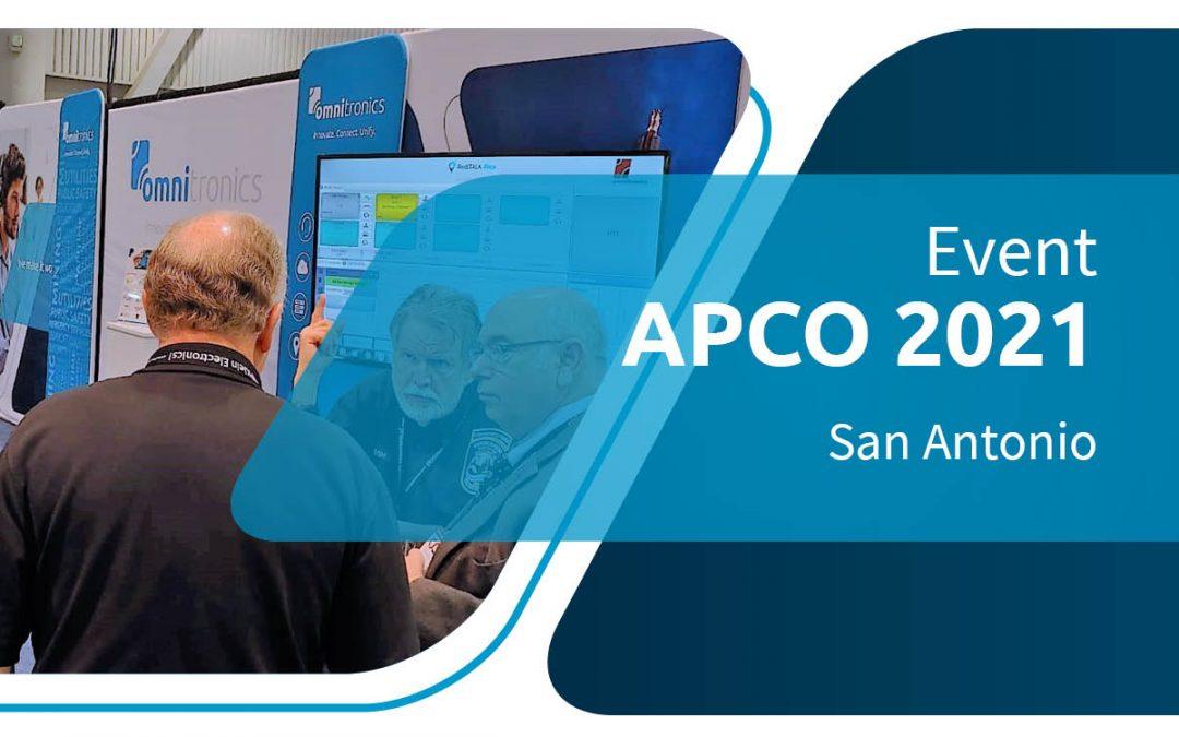 Meet Team Omnitronics at APCO San Antonio, TX
