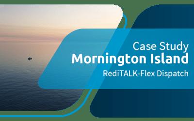 Mornington Island actualiza el envío a RediTALK-Flex
