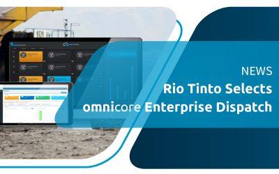 Sélections Rio Tinto omnicore Envoi d'entreprise