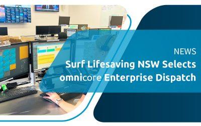 omnicore Le système de répartition d'entreprise a été sélectionné par Surf Life Saving New South Wales